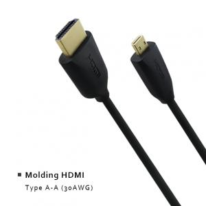 Molding HDMI - Type A-A (30AWG)